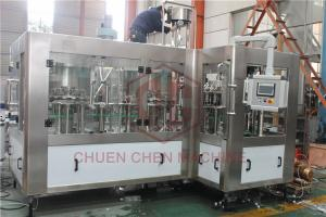 China PLC Control SUS 3000BPH Water Bottle Filling Machine on sale
