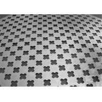 Popular Cold Rolled Steel Cross Patterns Perforated Metal Sheet