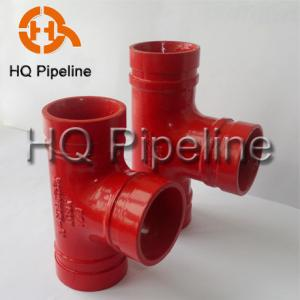 China UL/FM Grooved fittings and couplings on sale