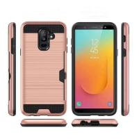 Colorful Metal Brushed with Side Card Pocket Function  Protective Shell For MOTO Phones G2 G3 G4 G4 PLUS G5 MOTO Z PLAY