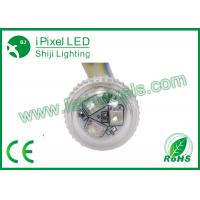 IP67 E14 full color 26mm RGB LED Pixel kiddie rides led light 2 years warranty