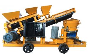 China Mining Industrial Concrete Sprayer / Automatic Feeding Wet Shotcrete Machine on sale