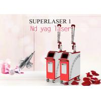 Q Switched Nd Yag Laser Machine 1064nm 532nm Laser Tattoo Removal Black Doll Treatment Machine