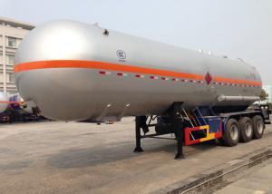 China 3 Axles Liquefied Petroleum LPG Tank Trailer , Liquid Ammonia Tank Trailers 45000L on sale