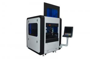 China Small Fiber CNC Laser Cutter Engraver Precise / Stable For Metal High Speed Cutting on sale