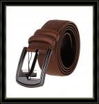 Stigmatisez la ceinture «Fuliter» boucle noire véritable de Pin de casaul des ceintures en cuir de 238 hommes de vache