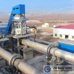 Large Scale Active Lime Calcination Equipment , Vertical Lime Kiln 50-500TPD