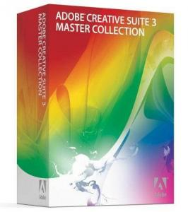 China Adobe creative suite 3 master collection on sale