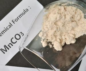 China Buy Manganese Carbonate Solid Powder MSDS , COA TDS Electrolyte Solution on sale