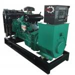 125Kva Diesel Generator Cummins Power 6BTA5.9-G2 Rating 1500RPM Open Genset