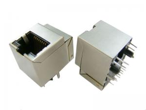 China PoE Function Cat6 RJ45 Jack For Network Interface Cards And PC Applications on sale