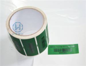 China Multi Colors Printing Self Adhesive Security Labels For Many Printer on sale