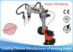 Adjustable Arc Welding Robot , Compact Welding Machine 6kg Payload
