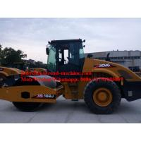 Model XS162J Vibratory Road Roller , Road Maintenance Machinery Operating Weight 16000kgs, 115Kw, Euro II