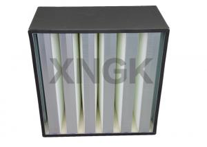 China Cleanroom Terminal Filtration High Volume HEPA Filter H13 ABS Plastic Frame on sale