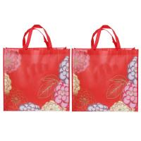 High Strength Laminated Woven Bag Custom Eco Friendly Tote Bags Handle Style