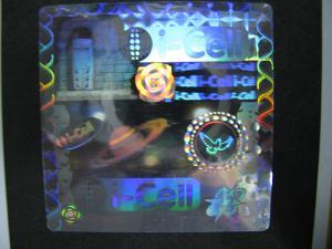 China Security 3D Hologram Sticker Label , Customized Logo Tamper Evident Labels on sale