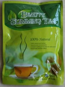 China Rapid Appetite Suppressant Beauty Slim Herbal Tea Women Safe GMP Approved on sale