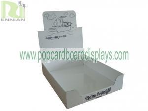 China Cardboard Storage Box Gift Box Corrugated Carton Box Display With Printing For Pop Show ENCA023 supplier