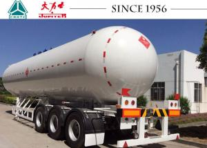 China 58.1 Cbm 3 Axles LPG Tank Trailer , LPG Gas Tanker Truck ASME Standard on sale