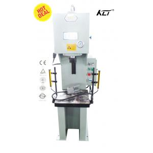 China NC Medium C-Frame Hydraulic Cold / Hot Press Machine For Steel Sheet Single Column on sale