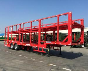 China 17 Meters Automobile Transport Carriers Double Axles 2 Floors Car Hauler Truck on sale