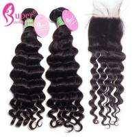 China 7A 8A Deep Wave Extensions For Natural African American Hair No Tangle on sale
