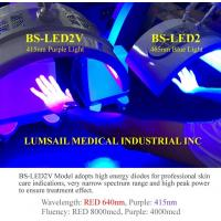 415nm Wavelength Purple Light PDT LED Light Therapy Machine For Acne Treatment