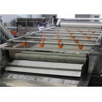 1000 - 2200mm Fruit Cleaner Machine , High Efficiency Food Processing Machine