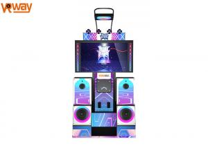 China Customized Color 9D Virtual Reality Arcade Dance Machine With Massive Songs on sale