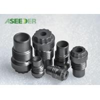 China Hard Alloy Cross Goove Thread Nozzle / Strong Cemented Carbide Nozzle on sale