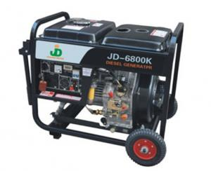 China 4kw air-cooled generator on sale