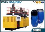 60 Liter Hdpe Drum Manufacturing Machines , Horizontal Extrusion Moulding Machine SRB90