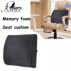China Memory Foam Back Cushion Lumbar Support for Car Seat,lumbar support back rest cushion on sale