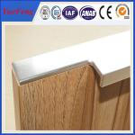 China hot selling aluminum cabinet edge handle profile in china wholesale