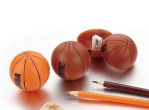 China basketball shape kids basketball pencil sharpener on sale