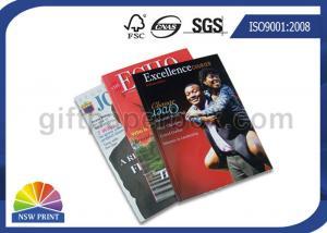 China Full Color Custom Magazine Printing / Brochure Printing / Catalogue Printing Service on sale