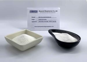 China Low Molecular Weight Marine Fish Collagen Granule Dissolve Into Water Easily on sale