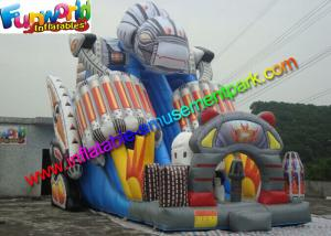 China Crazy Commercial Inflatable Slide , Robert Inflatable Super Slide EN14960 on sale