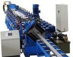 Steel Section Profile Roll Forming Machine , Galvanized Light Steel Metal Joist Making Machine