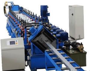 China Steel Section Profile Roll Forming Machine , Galvanized Light Steel Metal Joist Making Machine on sale