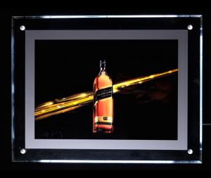 China 10mm indoor advertising colorful led acrylic  light box on sale