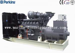 Quality Big Capacity 1688KVA Perkins Diesel Generator , 1350KW 12Cylinders Perkins for sale