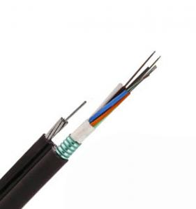 China 12 24 72 96 Core FIG8 Aerial GYTC8S Fiber Optical Cable on sale