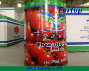 China Fresh Crop Chinese Canned Tomato Paste for Nigeria (TP-006) on sale