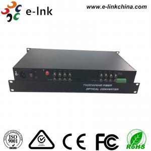 China 16CH AHD CVI TVI Over Fiber Converter , HD - AHD / HD - CVI / HD -TVI Optical Transceiver on sale
