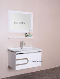 Modern Waterproof Board Pvc Bathroom Vanity 80 Inch With Two Big Drawers For Sale Pvc Bathroom Vanity Manufacturer From China 108912899