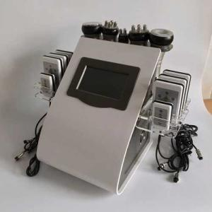 China rf probe Touch Screen Laser Lipo Cavitation Machine Frequency 5MHz 100KPA Pressure on sale