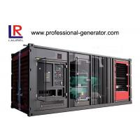 Industrial 900kw Soundproof  Container Genset Diesel Generator Plant with Cummins Engine