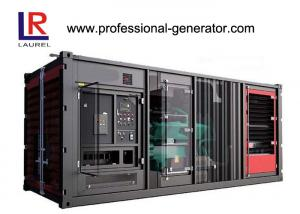 China Industrial 900kw Soundproof  Container Genset Diesel Generator Plant with Cummins Engine supplier